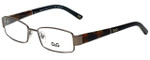 Dolce & Gabbana Designer Reading Glasses DD5073-441-49 in Gunmetal 49mm