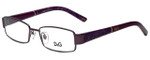 Dolce & Gabbana Designer Reading Glasses DD5073-492-51 in Purple 51mm