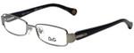 Dolce & Gabbana Designer Reading Glasses DD5093-090-49 in Gunmetal 49mm
