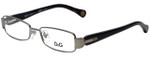 Dolce & Gabbana Designer Reading Glasses DD5093-090-49 in Gunmetal 49mm