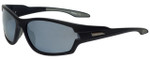 Timberland TB9070-02D Designer Polarized Sunglasses in Matte Black with Silver Flash Lens