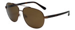 Timberland TB9076-49H Designer Polarized Sunglasses in Bronze with Brown Lens