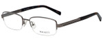 Hackett Designer Eyeglasses HEK1104-90 in Matte Gunmetal 54mm :: Custom Left & Right Lens