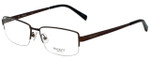 Hackett Designer Eyeglasses HEK1113-165 in Brown 58mm :: Custom Left & Right Lens