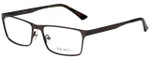 Hackett Designer Eyeglasses HEK1138-91 in Dark Gunmetal 56mm :: Custom Left & Right Lens
