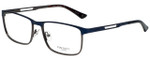 Hackett Designer Eyeglasses HEK1166-628 in Navy 58mm :: Custom Left & Right Lens