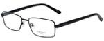 Hackett Designer Eyeglasses HEK1090-01 in Matte Black 55mm :: Rx Single Vision