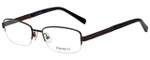 Hackett Designer Eyeglasses HEK1104-165 in Matte Brown 54mm :: Progressive