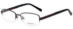 Hackett Designer Reading Glasses HEK1104-165 in Matte Brown 54mm