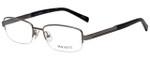 Hackett Designer Reading Glasses HEK1104-90 in Matte Gunmetal 54mm
