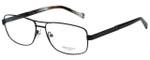 Hackett Designer Reading Glasses HEK1105-02 in Matte Black 58mm
