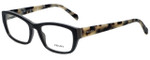 Prada Designer Eyeglasses VPR18O-TFN1O1 in Grey 52mm :: Custom Left & Right Lens