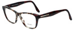 Prada Designer Eyeglasses VPR04T-U6K1O1 in Burgundy Tortoise 52mm :: Rx Single Vision