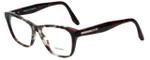 Prada Designer Eyeglasses VPR04T-U6K1O1 in Burgundy Tortoise 54mm :: Rx Single Vision