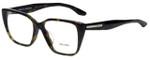 Prada Designer Eyeglasses VPR08T-2AU1O1 in Havana 53mm :: Rx Single Vision