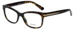 Prada Designer Eyeglasses VPR10R-2AU1O1 in Havana 53mm :: Rx Single Vision