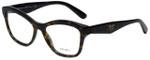 Prada Designer Eyeglasses VPR29R-8AK1O1 in Dark Havana 54mm :: Rx Single Vision