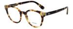 Prada Designer Eyeglasses VPR06T-7S01O1 in Havana 50mm :: Rx Bi-Focal