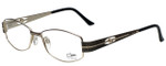 Cazal Designer Eyeglasses Cazal-1089-002 in Charcoal Gold 52mm :: Custom Left & Right Lens
