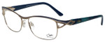 Cazal Designer Eyeglasses Cazal-1095-001 in Blue Green 55mm :: Progressive