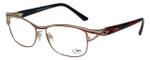 Cazal Designer Eyeglasses Cazal-1095-002 in Red Gold 55mm :: Progressive