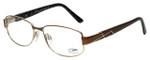 Cazal Designer Eyeglasses Cazal-1206-003 in Brown 53mm :: Progressive