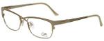 Cazal Designer Eyeglasses Cazal-4214-003 in White Gold 53mm :: Custom Left & Right Lens
