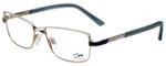 Cazal Designer Eyeglasses Cazal-4215-003 in Blue White 53mm :: Custom Left & Right Lens