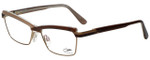 Cazal Designer Eyeglasses Cazal-4216-004 in Brown Beige 54mm :: Custom Left & Right Lens