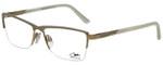 Cazal Designer Eyeglasses Cazal-4218-002 in White Gold 55mm :: Custom Left & Right Lens