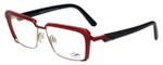 Cazal Designer Eyeglasses Cazal-4226-003 in Red Black 54mm :: Custom Left & Right Lens
