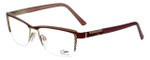 Cazal Designer Eyeglasses Cazal-4235-001 in Plum Gold 54mm :: Custom Left & Right Lens
