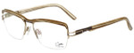 Cazal Designer Eyeglasses Cazal-4236-004 in White Wood 54mm :: Custom Left & Right Lens