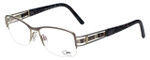 Cazal Designer Eyeglasses Cazal-4240-004 in Anthracite 52mm :: Custom Left & Right Lens