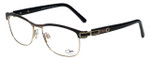 Cazal Designer Eyeglasses Cazal-4237-001 in Black Leopard 53mm :: Rx Single Vision
