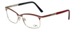 Cazal Designer Eyeglasses Cazal-4239-003 in Red 53mm :: Rx Single Vision