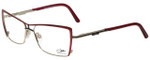 Cazal Designer Eyeglasses Cazal-4213-001 in Burgundy 55mm :: Progressive