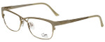 Cazal Designer Eyeglasses Cazal-4214-003 in White Gold 53mm :: Progressive