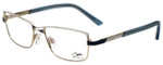 Cazal Designer Eyeglasses Cazal-4215-003 in Blue White 53mm :: Progressive