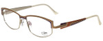 Cazal Designer Eyeglasses Cazal-4234-001 in Purple Orange Gold 54mm :: Progressive
