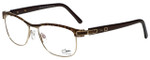 Cazal Designer Eyeglasses Cazal-4237-002 in Brown Leopard 53mm :: Progressive
