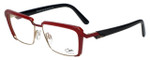 Cazal Designer Eyeglasses Cazal-4226-003 in Red Black 54mm :: Rx Bi-Focal