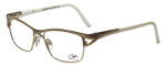 Cazal Designer Eyeglasses Cazal-4238-002 in Gold 53mm :: Rx Bi-Focal