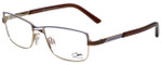 Cazal Designer Reading Glasses Cazal-4215-004 in Purple Brown 53mm