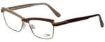 Cazal Designer Reading Glasses Cazal-4216-004 in Brown Beige 54mm