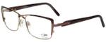 Cazal Designer Reading Glasses Cazal-4228-002 in Rose Brown 54mm