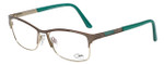 Cazal Designer Reading Glasses Cazal-4233-003 in Gold Green 53mm