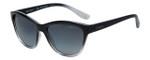 Vogue Designer Polarized Sunglasses VO2993-1880 in Black Fade with Grey Gradient Lens