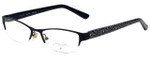 Jenny Lynn Designer Eyeglasses Joyful-BLK in Black 52mm :: Rx Bi-Focal