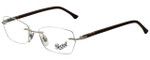 Persol Designer Eyeglasses PO2417V-1033-51 in White Brown 51mm :: Rx Single Vision